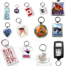 Blank Keyrings & Matching Photo Punches